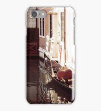 A Gondola floats in Venice iPhone Case/Skin