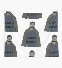 Omar The Wire Wall Tapestry