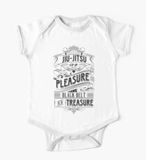 Jiu-Jitsu Treasure Short Sleeve Baby One-Piece