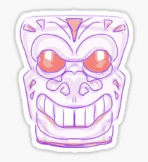 Alien Skull 2 Sticker