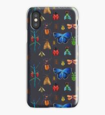 Entomology (Black) iPhone Case/Skin