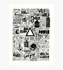 Bastille / Other People's Heartache Art Print
