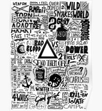 Bastille / Other People's Heartache Poster