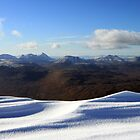 A view from Slioch by beavo