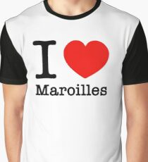 I Love Maroilles Graphic T-Shirt