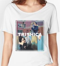 Trishica - Trish and Jessica Women's Relaxed Fit T-Shirt