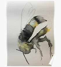 Buzzy Little Bee Poster