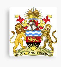 Malawi Coat of Arms Canvas Print
