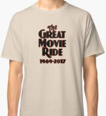 The Great Movie Ride Goodbye Classic T-Shirt