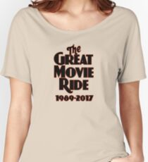 The Great Movie Ride Goodbye Women's Relaxed Fit T-Shirt