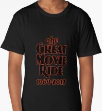 The Great Movie Ride Goodbye Long T-Shirt