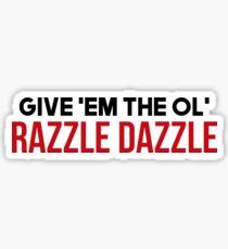 Razzle Dazzle - Billy Elliot Sticker