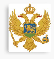 Montenegro Coat of Arms Canvas Print