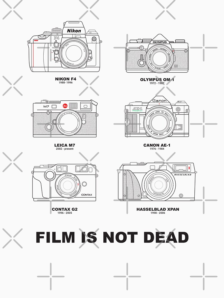Film Is Not Dead - Vintage Film Photography by adidabu