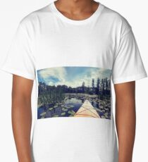 boat landscape Long T-Shirt