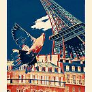 Paris Poster by iamsla