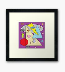 totally waiting to be saved by the bell Framed Print