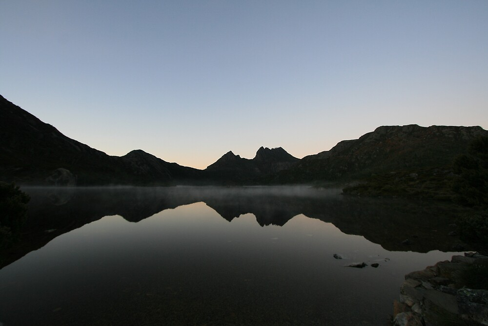 Cradle Mountain and Dove Lake, Tasmania by Leigh Penfold