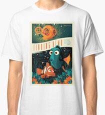 Finding Nemo - Retro poster Classic T-Shirt