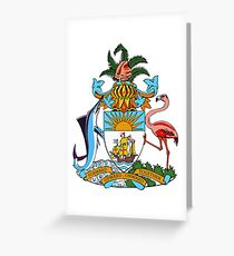 The Bahamas Coat of Arms Greeting Card