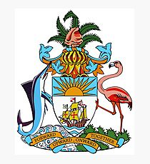 The Bahamas Coat of Arms Photographic Print