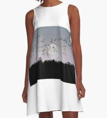 Guided by the Moon A-Line Dress