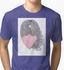 Hair and heart Tri-blend T-Shirt