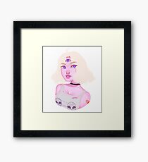 Child of the Cosmos Framed Print