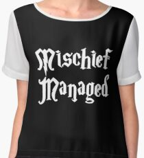 Mischief Managed  Women's Chiffon Top