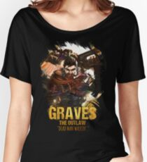 League of Legends GRAVES - [The Outlaw] Women's Relaxed Fit T-Shirt