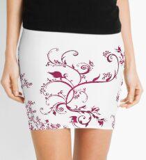 Blumenwind floral Pattern © hatgirl.de (Romantisch, Ethno, Feminin) Mini Skirt
