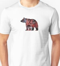 Red Bear Unisex T-Shirt