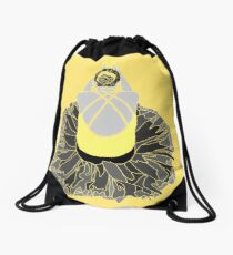 Ballerina (yellow) Drawstring Bag