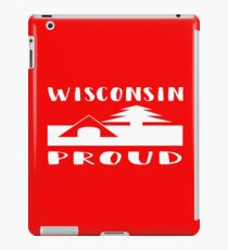 Wisconsin Power Slogan with humor and style. iPad Case/Skin