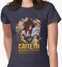 League of Legends CAITLYN - [The Sheriff Of Piltover] Womens Fitted T-Shirt