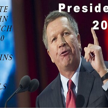 Vote for Governor John Kasich in 2020 by Jgreenphd