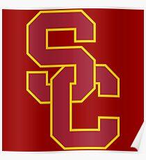 USC Trojans Poster