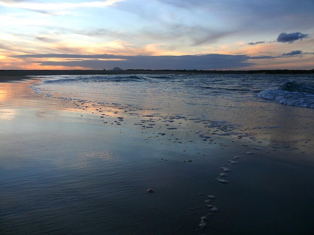 Surf Sunset by CameronScott