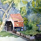 Water Mill - Godshill by Arthur Law