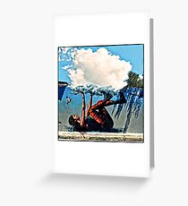 Who'll Stop The Rain Greeting Card