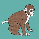 Baby monkey by bad-squirrel