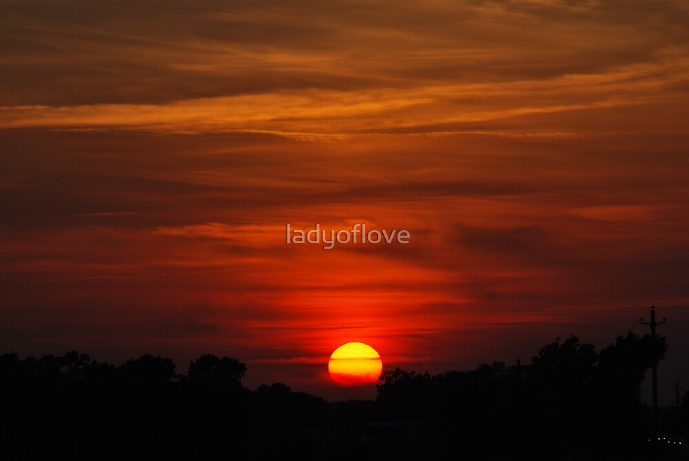 The magic of sunset! by ladyoflove