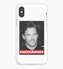 Benedict Cumberbatch Cheekbones iPhone Case/Skin