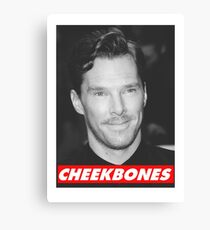 Benedict Cumberbatch Cheekbones Canvas Print