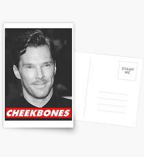 Benedict Cumberbatch Cheekbones Postcards