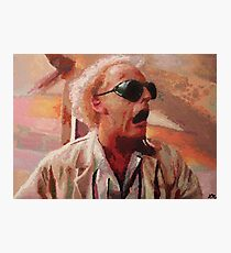Back to the Future: Doc Brown Photographic Print