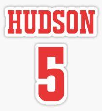 Hudson 5 Sticker