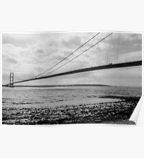 Humber Bridge: Smooth Crossing Poster