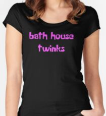 Bath House Twinks Women's Fitted Scoop T-Shirt