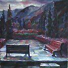 After a rain by Sokolovskaya